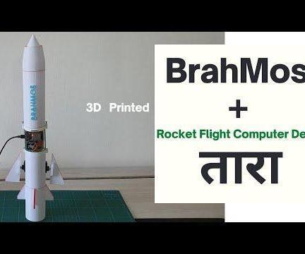 Supersonic Rocket Model Brahmos