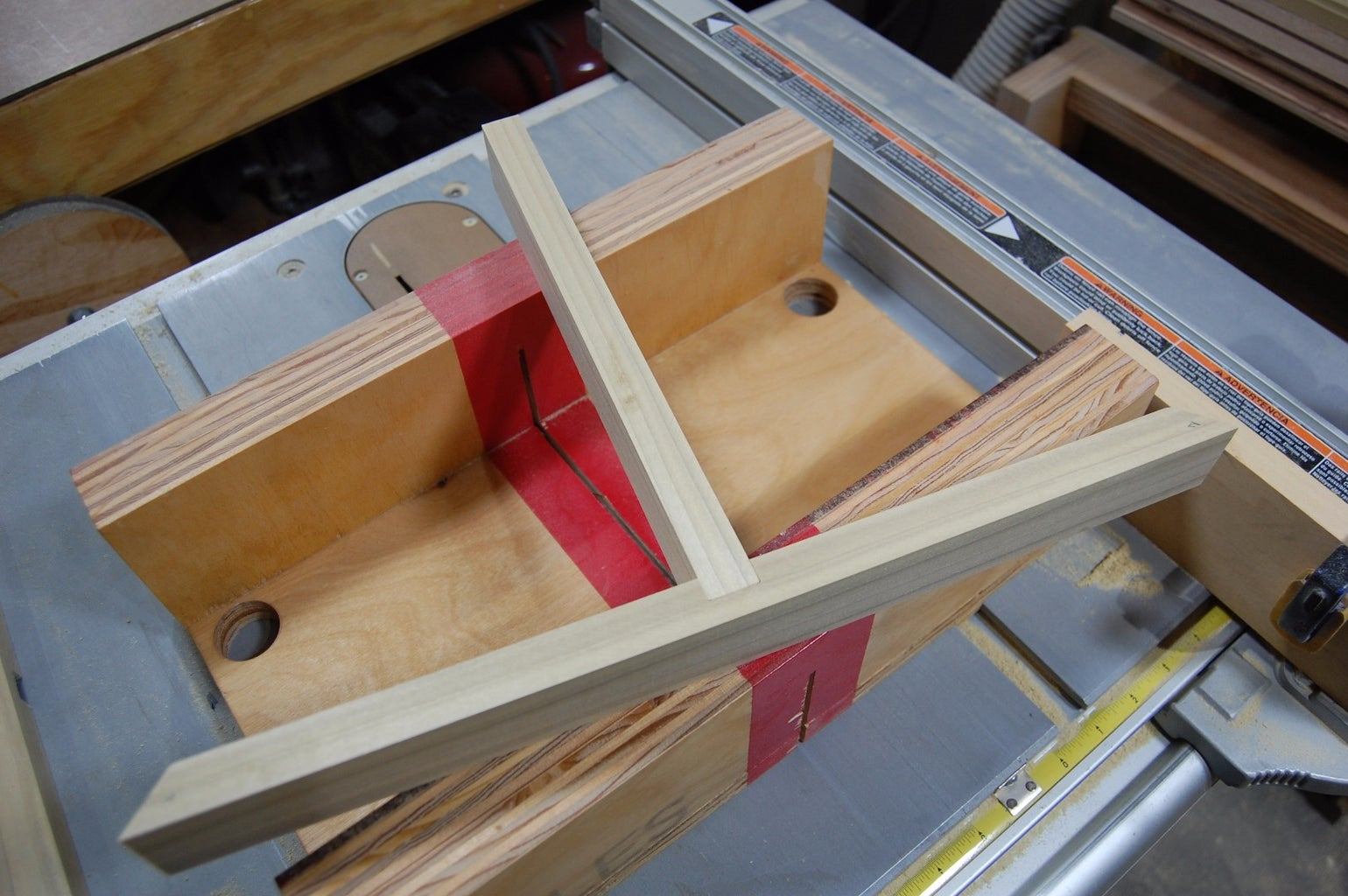 Center Divider and Bottom Groove