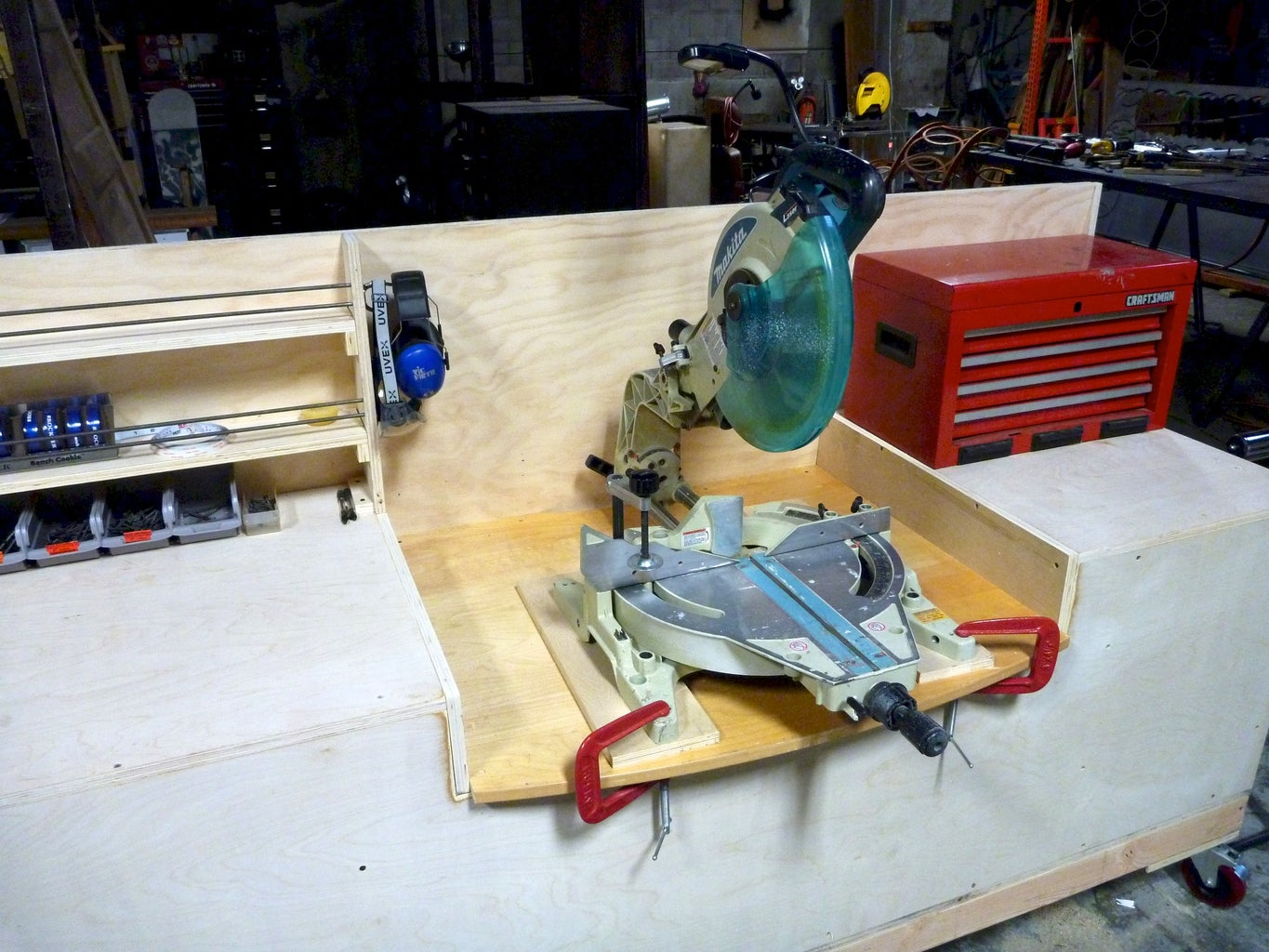 Cut Out Recess for Miter Saw