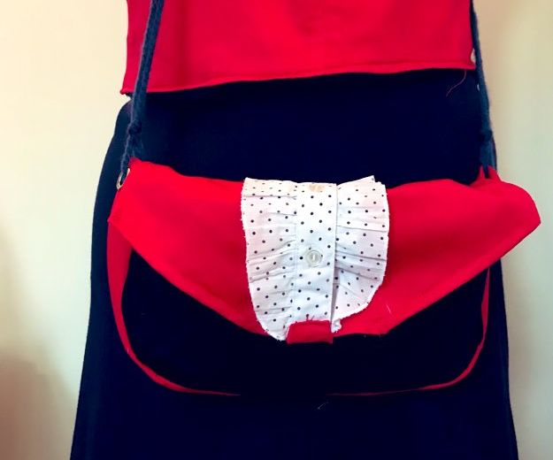 Frilly Purse From Offcuts