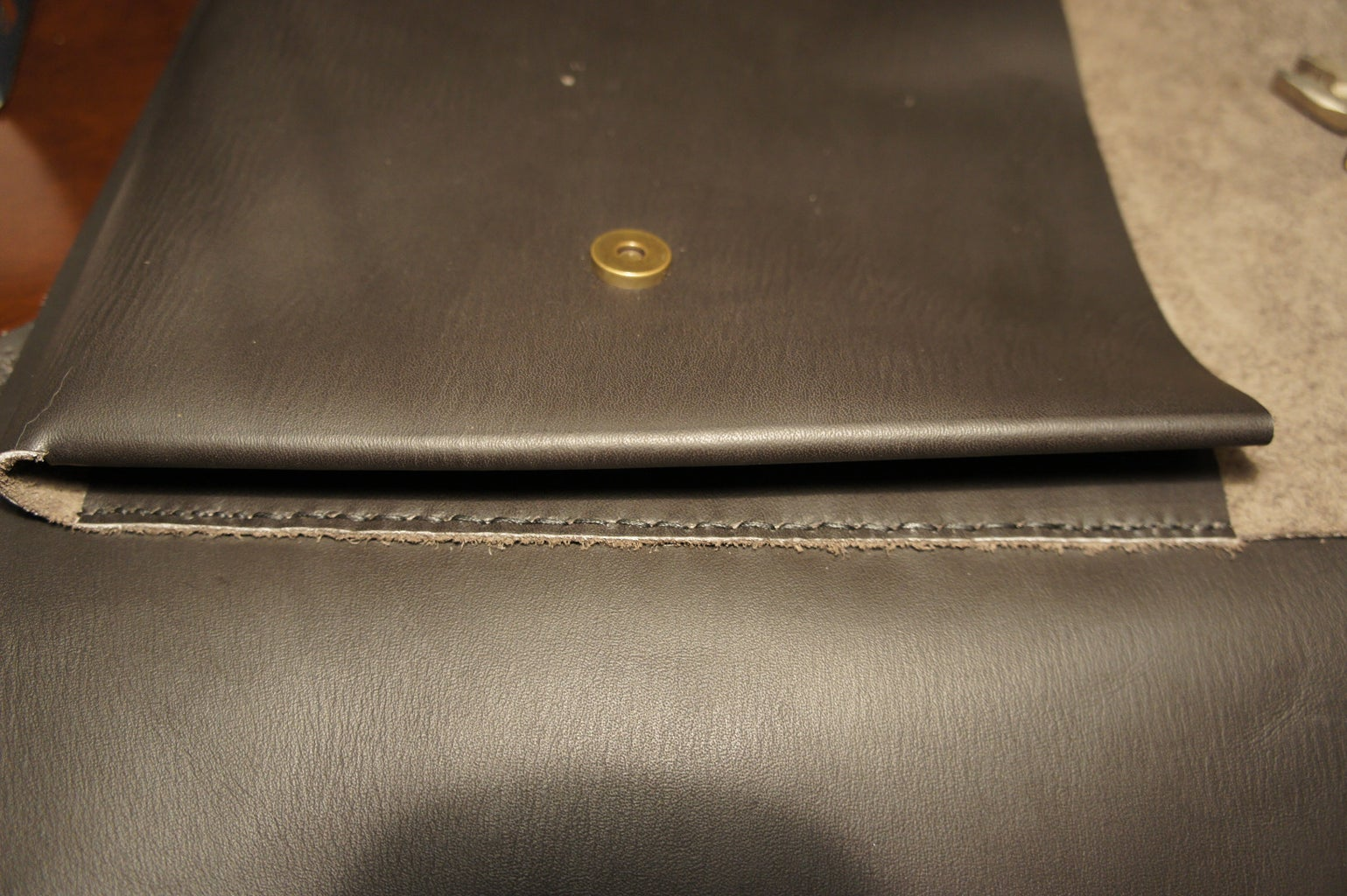 Front Compartment: Stitching to the Main Bag
