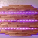 Split Cedar LED Wall Lamp