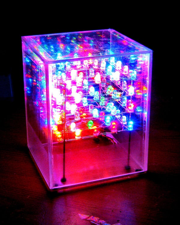 LED CUBE: Without Programming [How to Build]