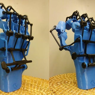 3D Printed Orthosis Prototype (Not for Medical Use!)