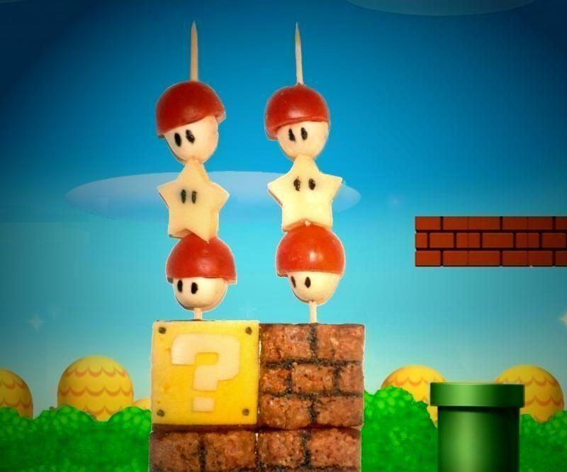 Super Mario appetizers