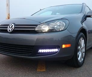 LED Daytime Running Lights for Golf Wagon
