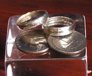Make a Silver Ring for 25 Cents