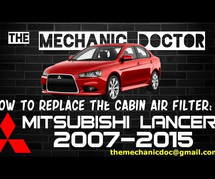 How to Replace the Cabin Air Filter : Mitsubishi Lancer 2007-2015