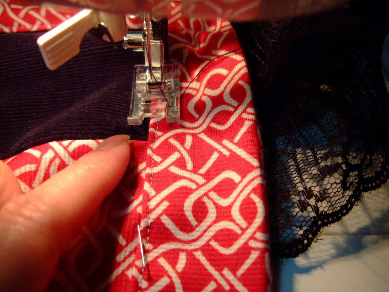 Add Lacy Shoulder Straps