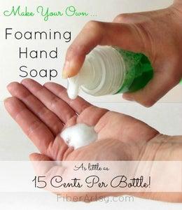 DIY Foaming Hand Soap - Save $$$!