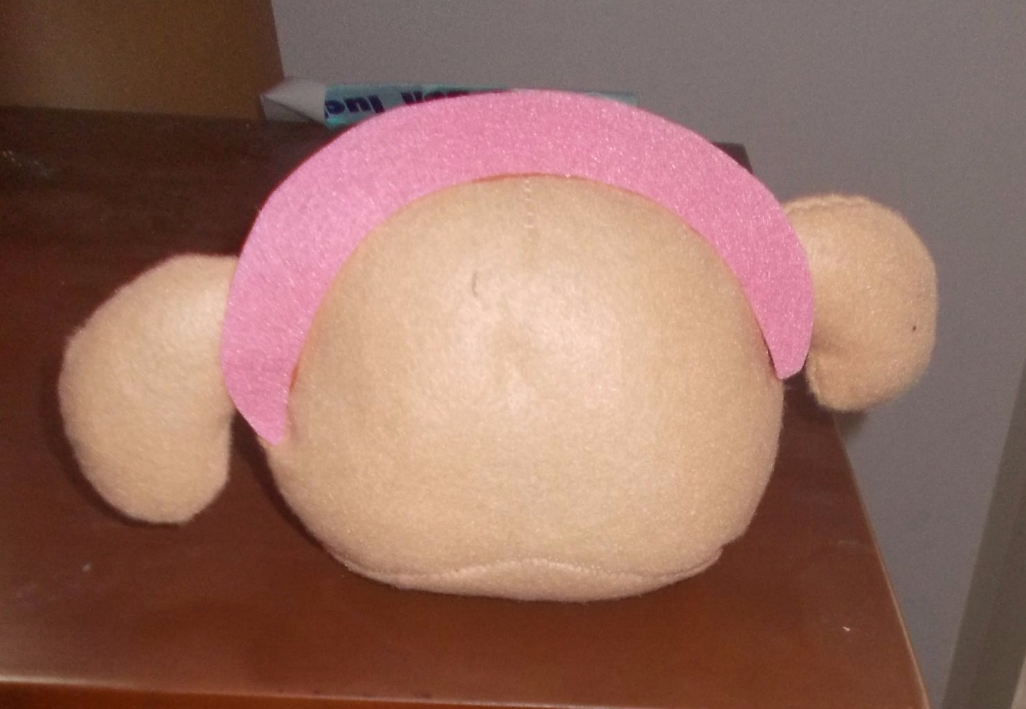 Cut Out the Headband and Sew It Up the Head.