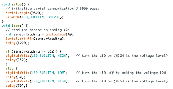 Step 1: Programing