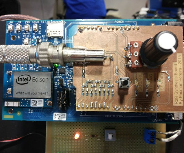 Signal Synthesis With Intel Edison