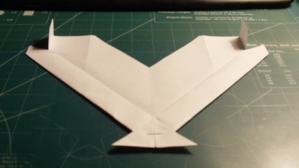 How to Make the Manta Paper Airplane