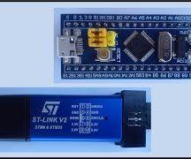 STM32F103C8 Minimum Evaluation Board With STMCubeMX Project Genarator