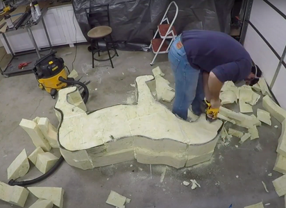 Start Carving and Refining the Shape