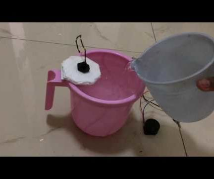 Low Cost Overflow Alarm for Paddy and Water Tank.
