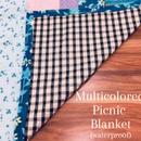 Multicolored Picnic Blanket (waterproof)