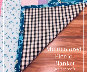 多彩多姿的野餐毯子(防水)