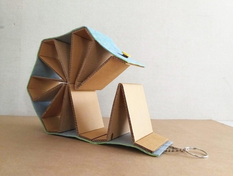 Cardboard Book Stand