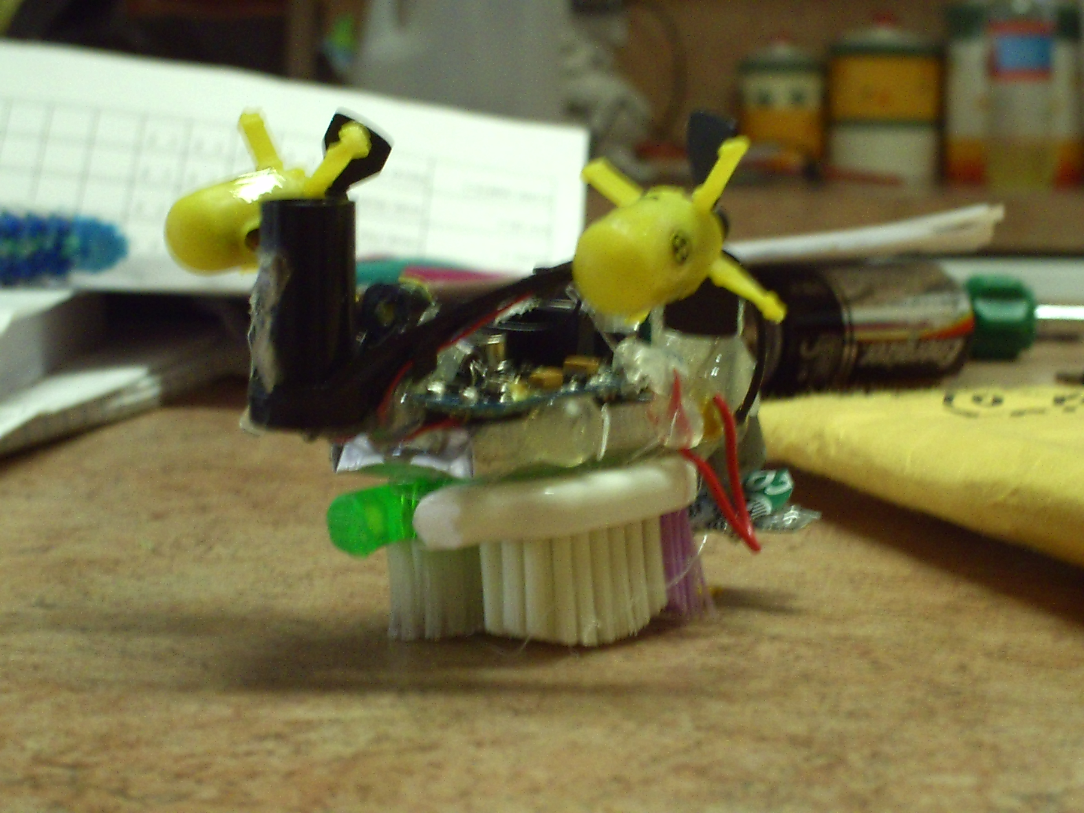 RC Bristle Robot