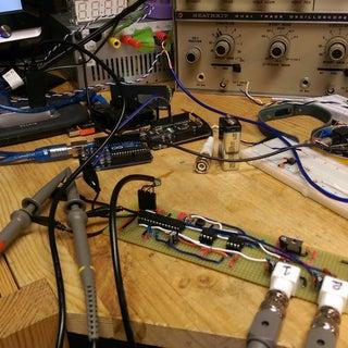 DIY - USB OSCILLOSCOPE IN a MATCHBOX