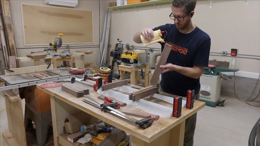 GLUING THE BOX JOINTS