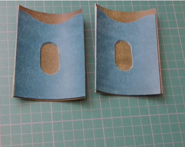 Cut the Leather Pieces.