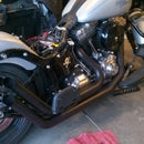 How to Repair and Repaint Motorcycle Exhaust Pipes
