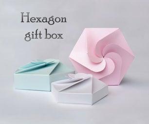 六角礼品盒+模板