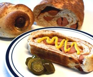 Smokin'BBQ Hotdog面包