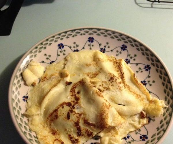 Easy Scandinavian-style Pancakes