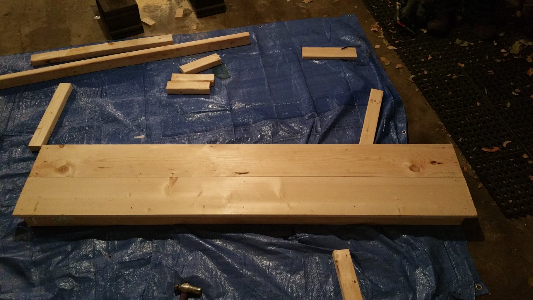 Assembling the Bench Seat