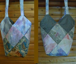 Reversible Patchwork Purse/Tote