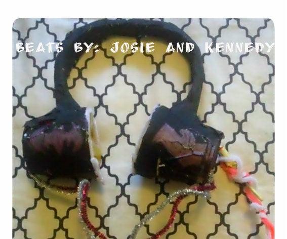 P6 Beats by Josie and Kennedy (DIY Headphones)