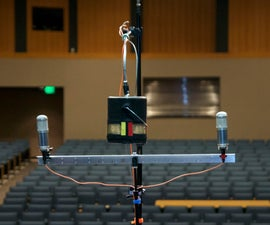 """The Paint Can """"Blumlein Pair"""" Stereo Microphone"""