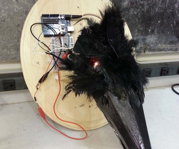 Moving Bird Head