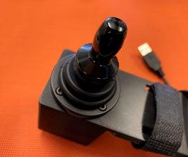 Hall Effect USB Joystick