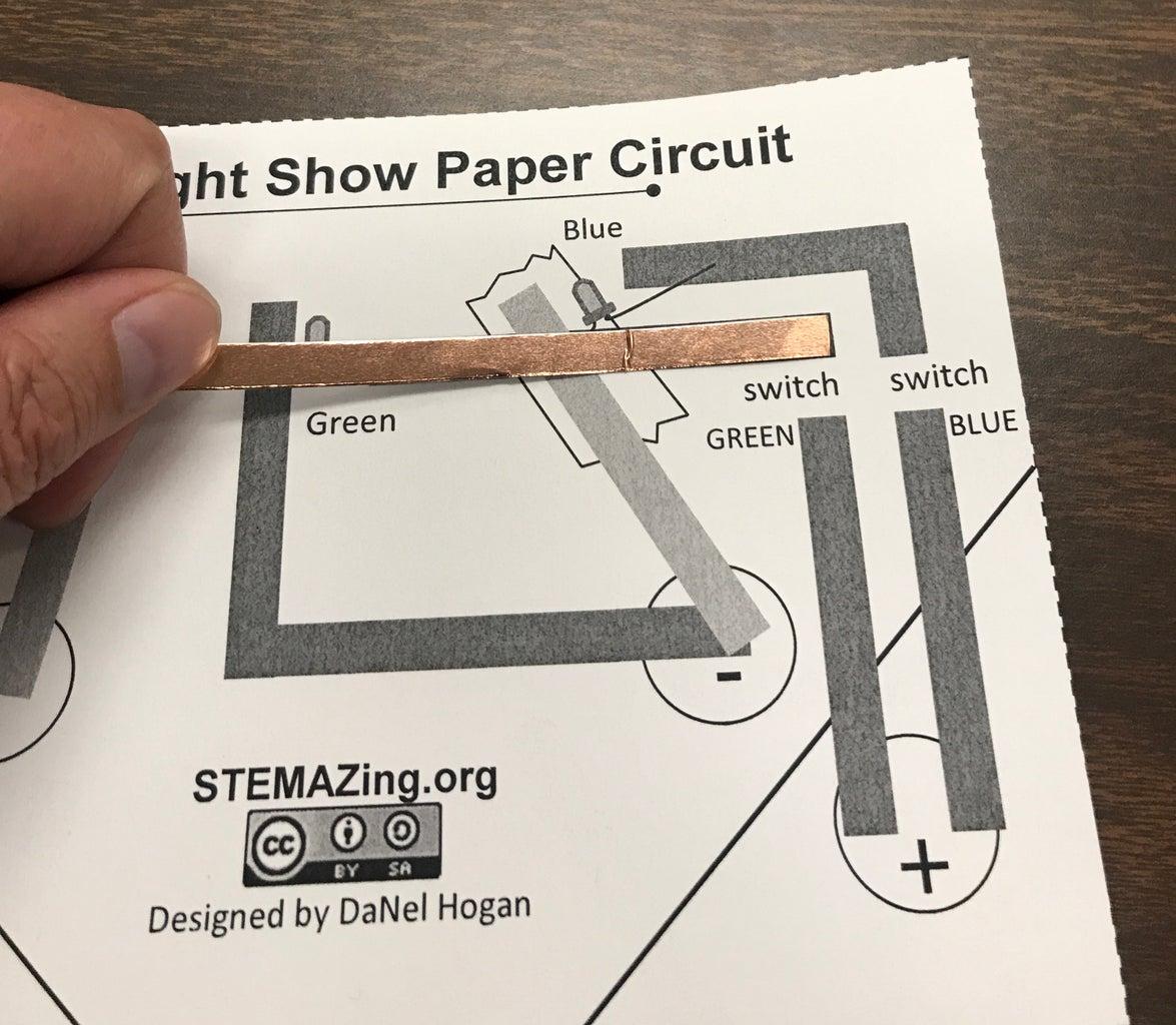 Cut First Piece of Copper Foil.