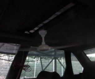 Fan in Your Car to Sleep in Summer