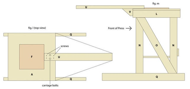 Building the Platen Arm and Platen: