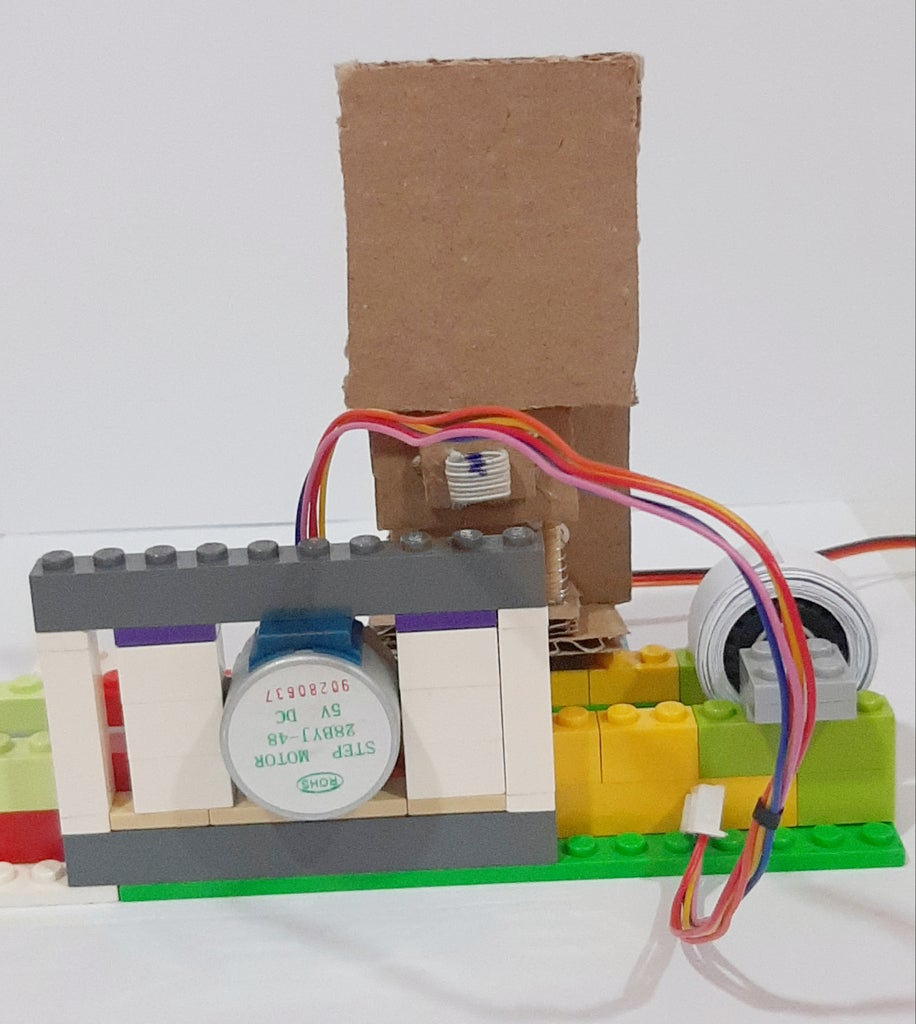 Building the Stepper Motor Frame