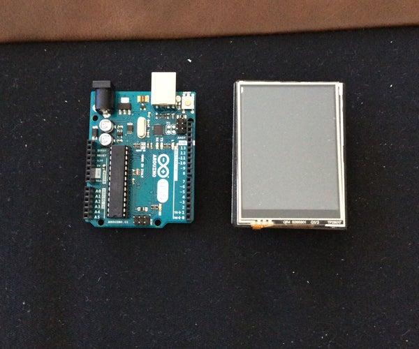 Arduino Touchscreen Display