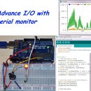 Advance I/O With Serial Monitor