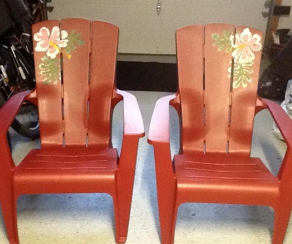 Plastic Lawn Chair Upgrade