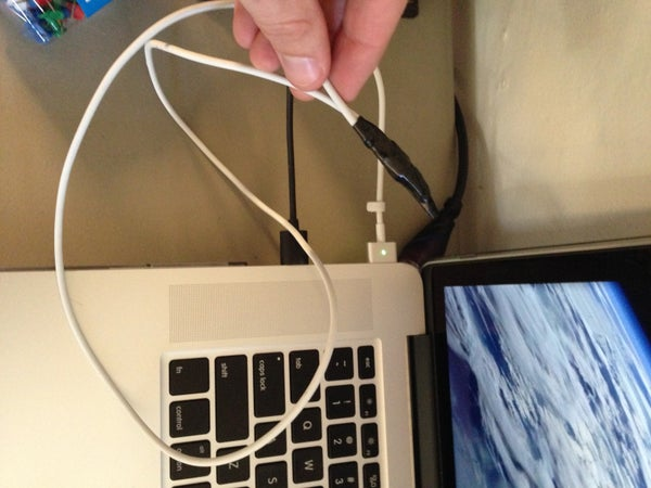 Fixing MacBook Pro Charger Cables (With Pictures!)