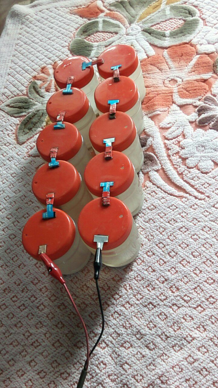 Bleaching Powder Battery