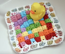 Woven Washcloth Crochet