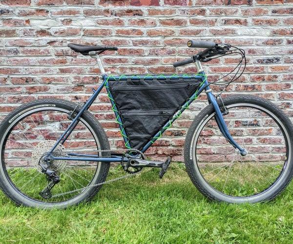 自行车包装流氓的自行车框架袋