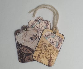 Travel Inspired Gift Tags and Tag Holders